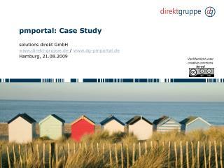 pmportal: Case Study