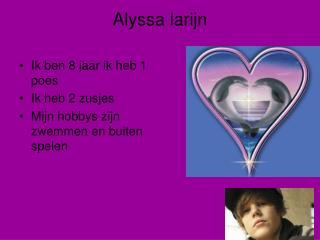 Alyssa larijn
