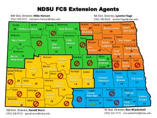 NDSU FCS Extension Agents
