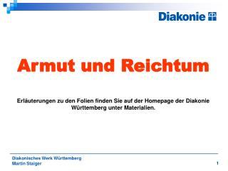 Diakonisches Werk Württemberg  Martin Staiger