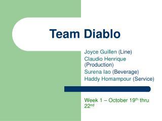 Team Diablo