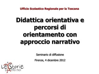 Ufficio Scolastico Regionale per la Toscana