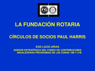 circulo paul harris