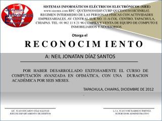SISTEMAS INFORMÁTICOS ELÉCTRICOS ELECTRÓNICOS (SIEE)
