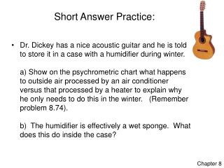 Short Answer Practice: