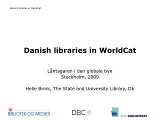 Danish libraries in WorldCat