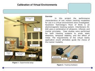 Calibration of Virtual Environments