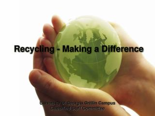 Recycling - Making a Difference