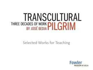 Selected Works for Teaching