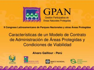 II Congreso Latinoamericano de Parques Nacionales y otras �reas Protegidas
