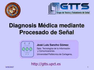 Diagnosis Médica mediante Procesado de Señal