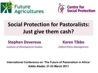 Social Protection for Pastoralists: Just give them cash?
