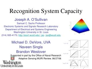 Recognition System Capacity
