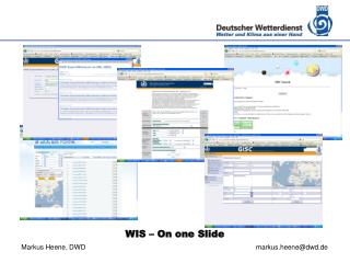 WIS – On one Slide