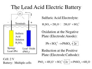 The Lead Acid Electric Battery