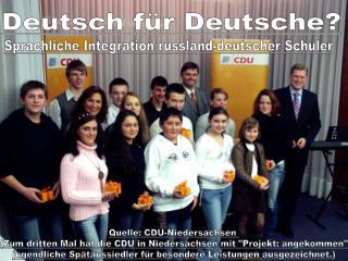 Deutsch für Deutsche?