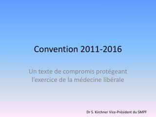 Convention 2011-2016