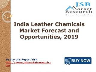 India Leather Chemicals Market Forecast and Opportunities, 2