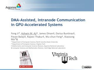 DMA-Assisted,  Intranode  Communication in GPU-Accelerated Systems