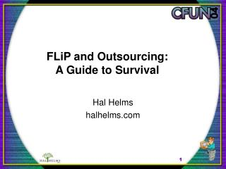 FLiP and Outsourcing:  A Guide to Survival