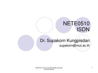 NETE0510 ISDN