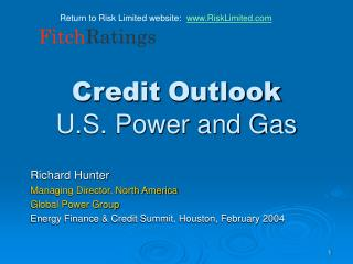 Credit Outlook U.S. Power and Gas