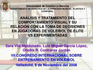 Sara Vila Maldonado, Luis Miguel García López, Onofre R. Contreras Jordán