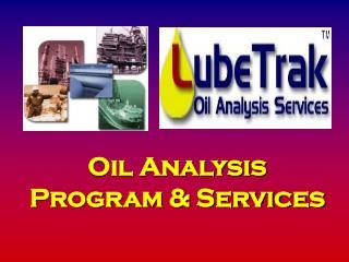 Oil Analysis Program & Services