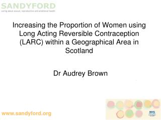 Dr Audrey Brown