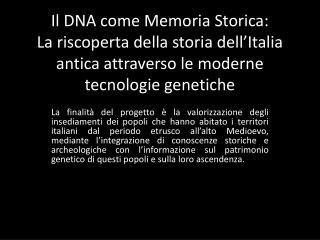 Collaborazione con la Soprintendenza Speciale Archeologica di Roma