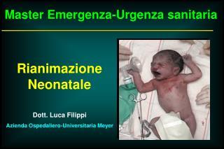Master Emergenza-Urgenza sanitaria