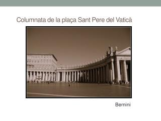 Columnata de la plaça Sant Pere del Vaticà