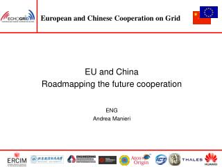 EU and China Roadmapping the future cooperation ENG Andrea Manieri