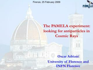 The PAMELA experiment: looking for antiparticles in Cosmic Rays