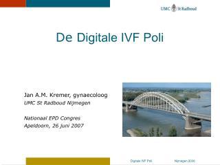 Jan A.M. Kremer, gynaecoloog UMC St Radboud Nijmegen Nationaal EPD Congres