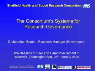 Sheffield Health and Social Research Consortium