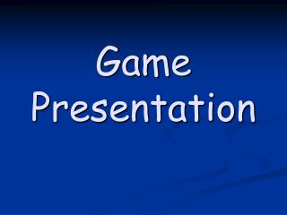 Download the Presentation