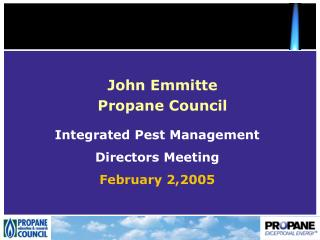 John Emmitte Propane Council
