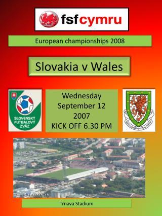 120907 - Slovakia v Wales