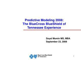 Soyal Momin MS, MBA September 23, 2008