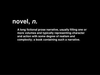 novel,  n.
