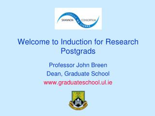 Welcome to Induction for Research Postgrads