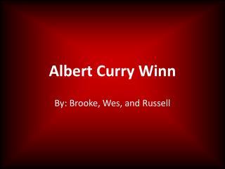 Albert Curry Winn