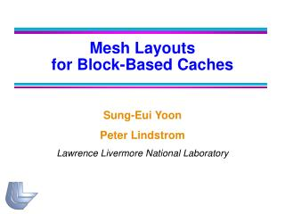 Mesh Layouts  for Block-Based Caches