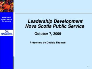 Leadership Development       Nova Scotia Public Service