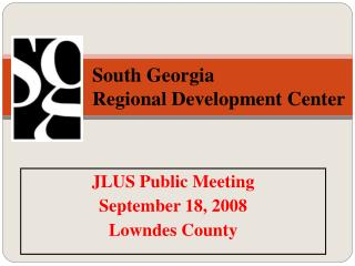 South Georgia Regional Development Center