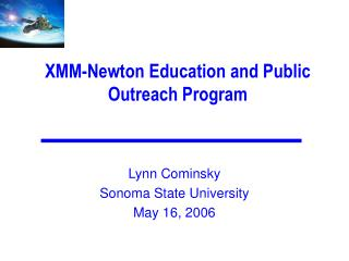XMM-Newton Education and Public Outreach Program