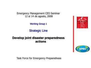 Task Force for Emergency Preparedness