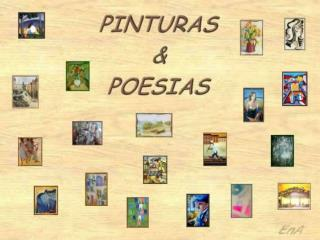 Algumas pinturas... Algumas poesias...