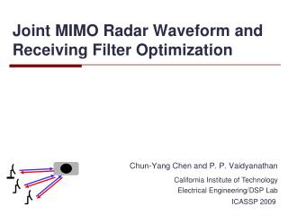 Joint MIMO Radar Waveform and Receiving Filter Optimization